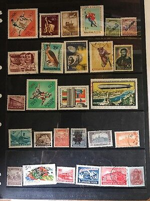 stamps  Hungary - MH and Used - Lot 421