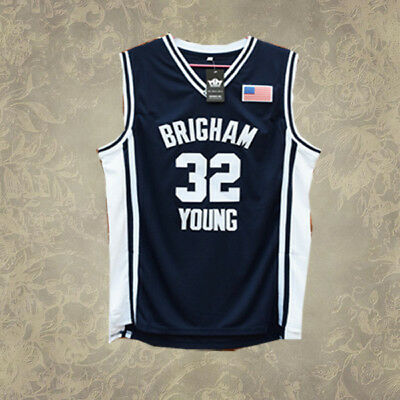 Brigham Young #32 Jimmer Fredette Basketball Jersey Sewn S M L XL XXL