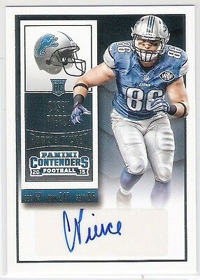 Casey Pierce 2015 Panini Contenders Rc Rookie Ticket Autograph Card