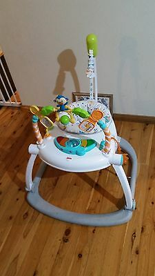 Fisher-Price Colourful Carnival SpaceSaver Jumperoo