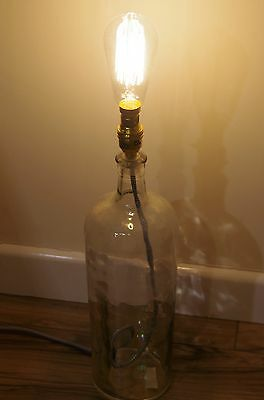 'industrial' Alchemy Bottle Lamp