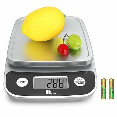 Electronic Kitchen Scale 5kg/1g Food Scales Digital LCD Weight Battery Postal