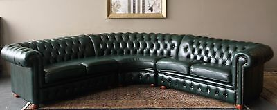 Stunning Gainsville Rare Corner Modular Chesterfield Lounge Sofa Couch Suite