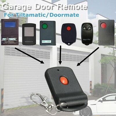 Garage Remote key For TiltAMatic Doormate 700T TRG300/306 TR300 TRV303 303Mhz