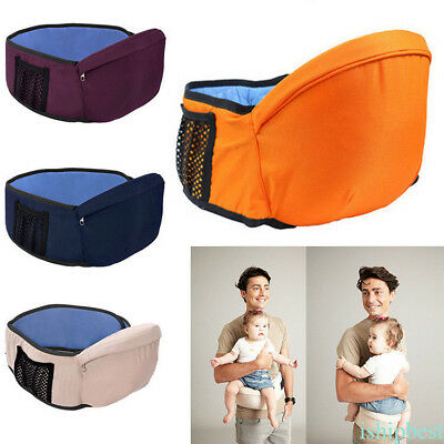 Baby Infant Carrier Hipseat Waist Wrap Hip Stool Seat Baby Sling Hold Strap Pad