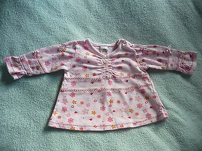 ** Pretty Baby Girl Floral Top - Next (Small Baby 3.4kg) **