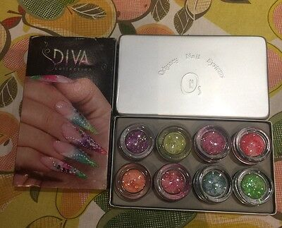 Colored Acrylic Set By Diva