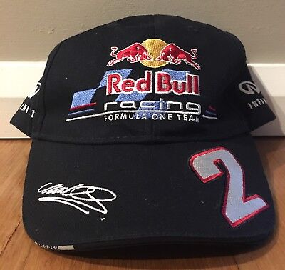 Red Bull Racing Cap | Infiniti | Mark Webber | 2