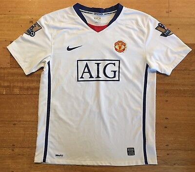 Manchester United FC Nike Barclays Premier League 07/08 Champions Jersey XL
