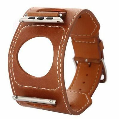 Apple Watch 38mm Designer Wide Tour Brown Compatible Replacement