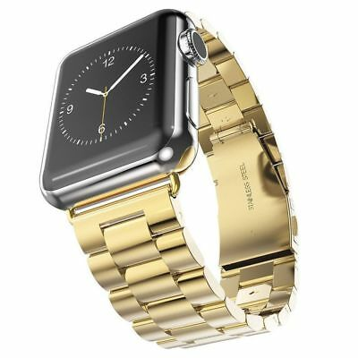 Apple Watch 42mm Link Bracelet Gold Compatible Replacement