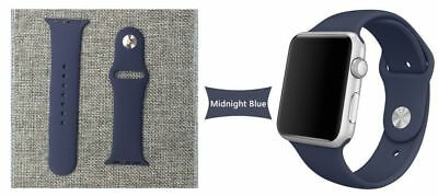 Apple Watch 38mm Compatible Replacement Sports Band Midnight Blue