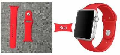 Apple Watch 38mm Compatible Replacement Sports Band Red