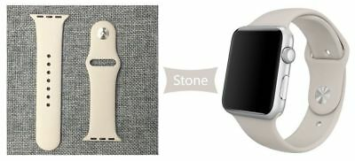Apple Watch 38mm Compatible Replacement Sports Band Stone