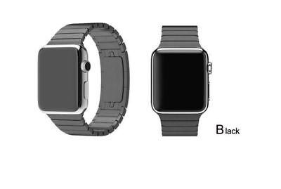 Apple Watch 38mm Strainless Steel Link Black Compatible Replacement
