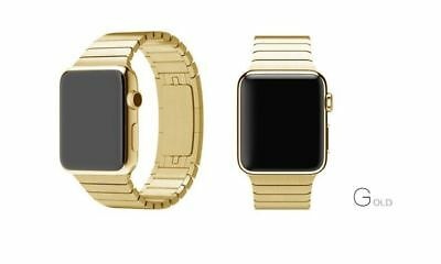 Apple Watch 42mm Strainless Steel Link Gold Compatible Replacement