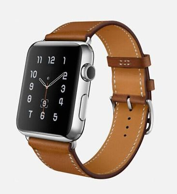 Apple Watch 38mm Designer Single Tour Brown Compatible Replacement