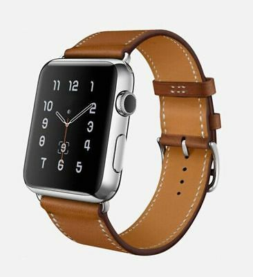 Apple Watch 42mm Designer Single Tour Brown Compatible Replacement