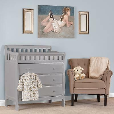 Dream On Me Marcus Grey Wood Changing Table And Dresser