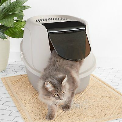 Extra Large Cat Litter Box Pan Enclosed Hooded With Scoop Covered Kitty House