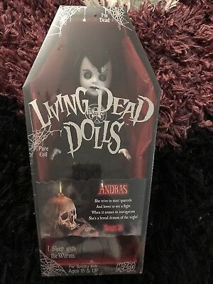 Living Dead Doll Andras Series 24 Sealed