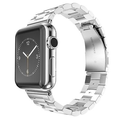 Apple Watch 42mm Link Bracelet Silver Compatible Replacement