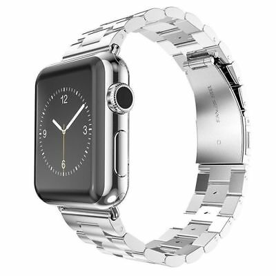 Apple Watch 38mm Link Bracelet Silver Compatible Replacement