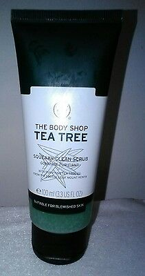 Gommage purifiant visage Tea Tree THE BODY SHOP, neuf