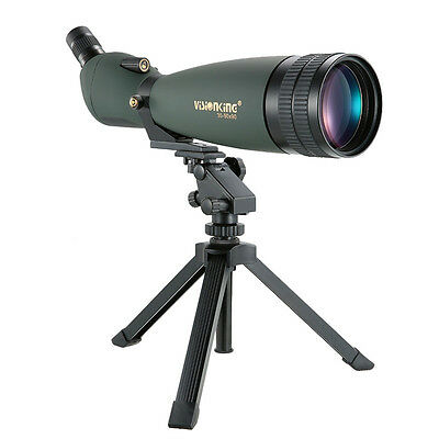 Waterproof Visionking 30-90x90 Spotting Scope Multi-coated BAK-4 Prism Monocular