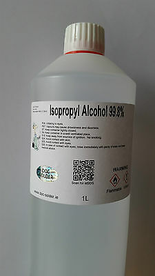 1L Pharmaceutical grade Isopropyl Alcohol 99.8% IPA Rubbing alcohol