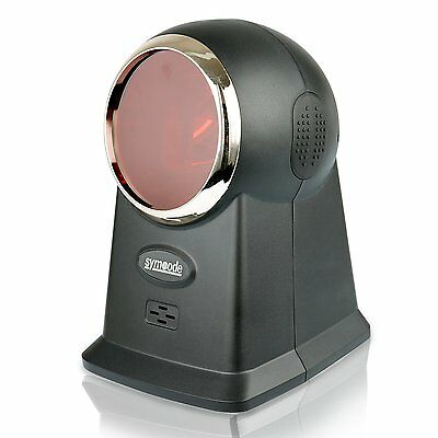 Barcode Scanner,Symcode Omnidirectional High Speed Laser Desktop Hands-Free Bar