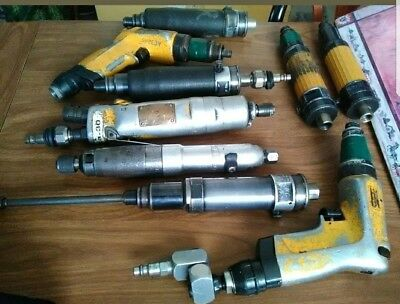 Atlas Copco, cleco Nut Runner/screwdriver lot (dotco, Sioux, Ingersoll rand)