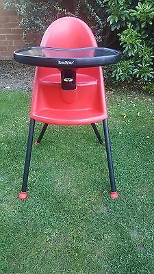 Baby Bjorn High Chair Red & black 6 months - 3 years