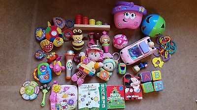 Fantastic Baby Girl Toys Bundle 0-24 months