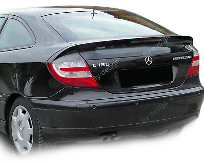 Mercedes Benz cl203 w203 sportcoupe Autospoiler hecklippe flap lippe Tuning rear