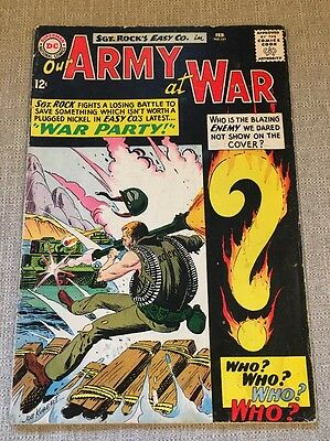 Our Army At War #151 DC Comics -1st Appearance Enemy Ace