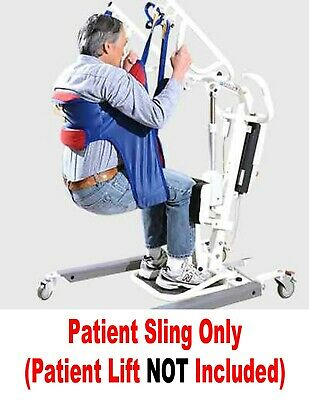 NEW - Padded Toileting Patient Lift Sling - Use With Hoyer And Most Other Lifts