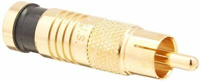 Platinum Tools 18052    RCA RG6 Compression, Gold Plated, 25-Pack