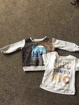 River Island Tshirt And Jumper 6-9 Months