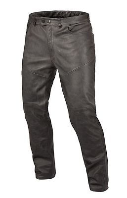 Dainese P. Trophy Vintage Pelle leather motorcycle pants, nero/black, size 54