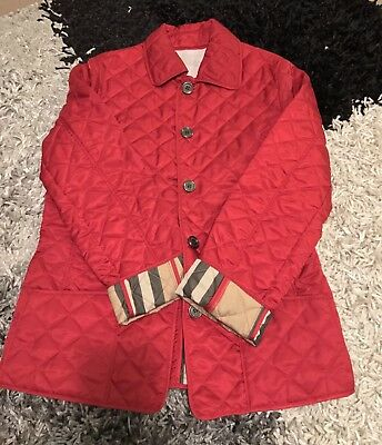 Burberry Girl Jacket, Coat Size 12 Brand New 100%Auth