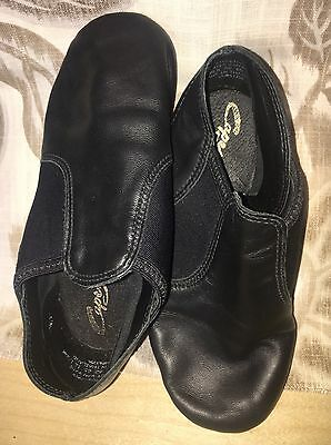 Capezio Black Jazz Shoes - Kids Size 12.5M