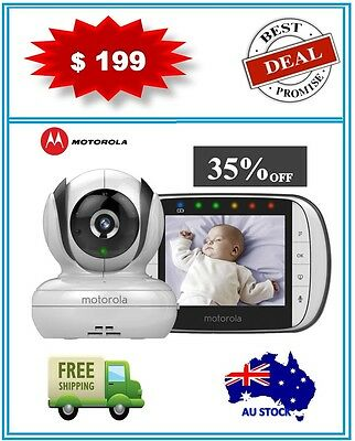 Motorola Mbp36S Deluxe Video And Sound Baby Monitor + Brand New + Warranty