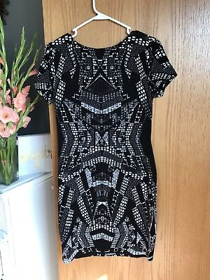 New H&M Black And White Dress Medium With Tags!