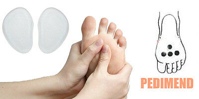 Pedimend™ Metatarsal Pads Silicone Gel Orthotic Shoe Foot Inserts For Cycling UK