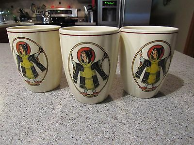 MUNCHEN! - Set of 3, German Made, Ceramic, Drink Cups, Pre-Owned, Clean