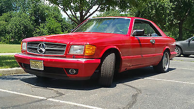 1986 Mercedes-Benz 500-Series 2 Dr, Coupe 1986 Mercedes Benz 560SEC (S-class, Fuel Injected Coupe.)
