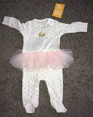 Next 3-6 Months Sleep Suit Baby Girl