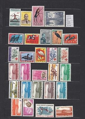 Stamps Lot Congo Mnh**  (L20573)
