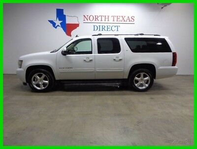 2009 Chevrolet Suburban LT 4WD Leather Heated Seats 3rd Row TV DVD Sunroof 2009 LT 4WD Leather Heated Seats 3rd Row TV DVD Sunroof Used 5.3L V8 16V OnStar